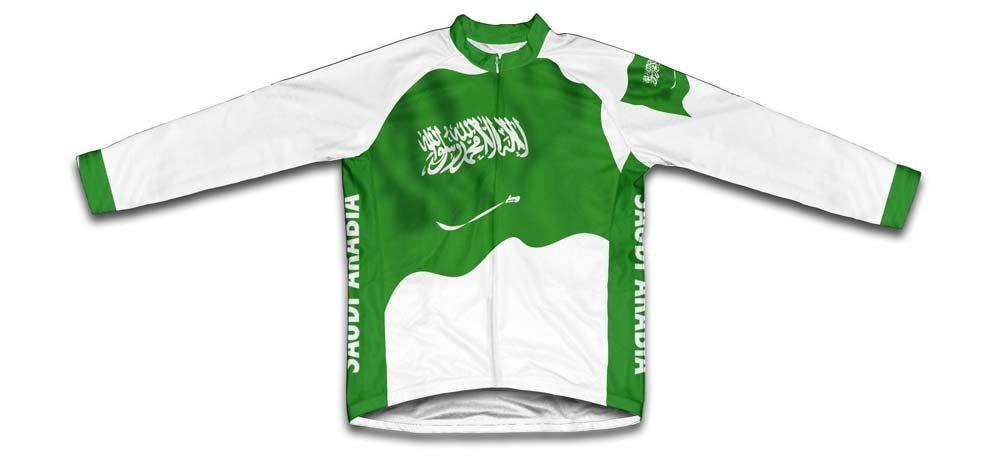 Saudi Arabia Flag Radsport Trikot mit kurzer Ärmel für Menner Scudo Sports Wear