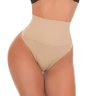 a43e895dc8132 Jenbou Waist Cincher Girdle Tummy Control Panties Trainer Sexy Thong Body  Shaper Slimming Shapewear for Women