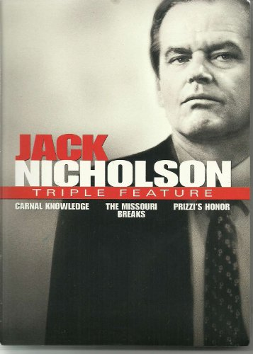 Jack Nicholson Triple Feature (Carnal Knowledge / The Missouri Breaks / Prizzi's Honor)