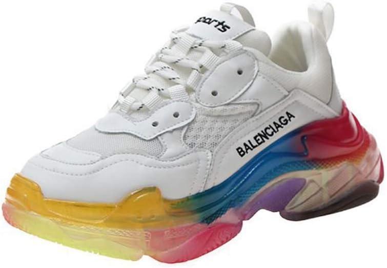 SHOES-HY Zapatos Casuales para Mujer, Zapatillas de Deporte, Zapatillas Ligeras y Transpirables para Correr Zapatillas para Caminar al Aire Libre Zapatillas de Entrenamiento sin Cordones,Blanco,38: Amazon.es: Jardín