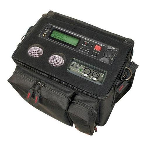 Gator Cases Field Recorder Utility Bag (Black, 600-Denier Nylon)