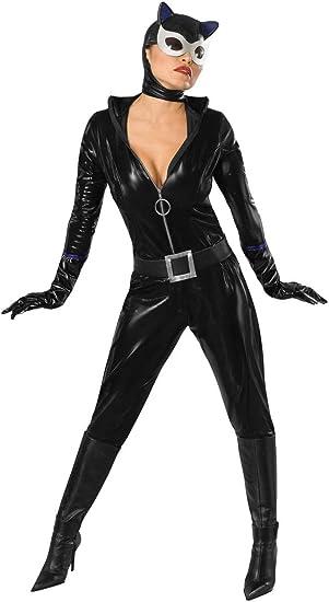 Disfraz de Catwoman para mujer XS: Amazon.es: Juguetes y juegos