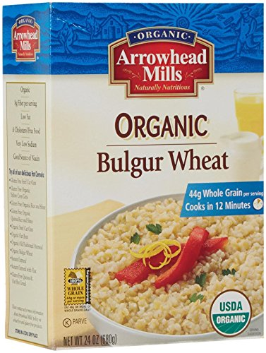 Arrowhead Mills Organic Bulgur Wheat-24 oz (Bulgur Mills Arrowhead)