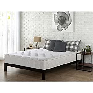 Priage 10 inch queen size tight top spring for How long does a spring mattress last