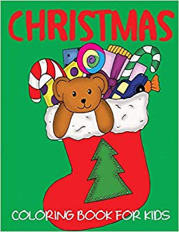 Christmas Coloring Book For Kids Blue Wave Press