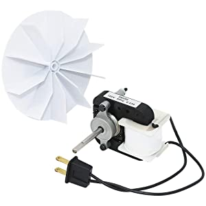 Appliancemate Universal SM550 Bathroom Vent Fan Motor Replacement Kit fit for C01575, 50CFM,120V