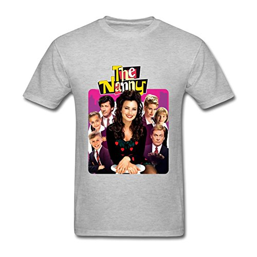 JuDian The Nanny Tv Show Poster T Shirt For Men