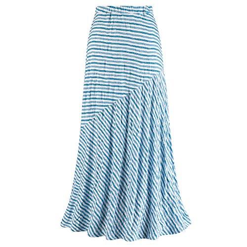 Womens Maxi Skirt Capri Striped product image