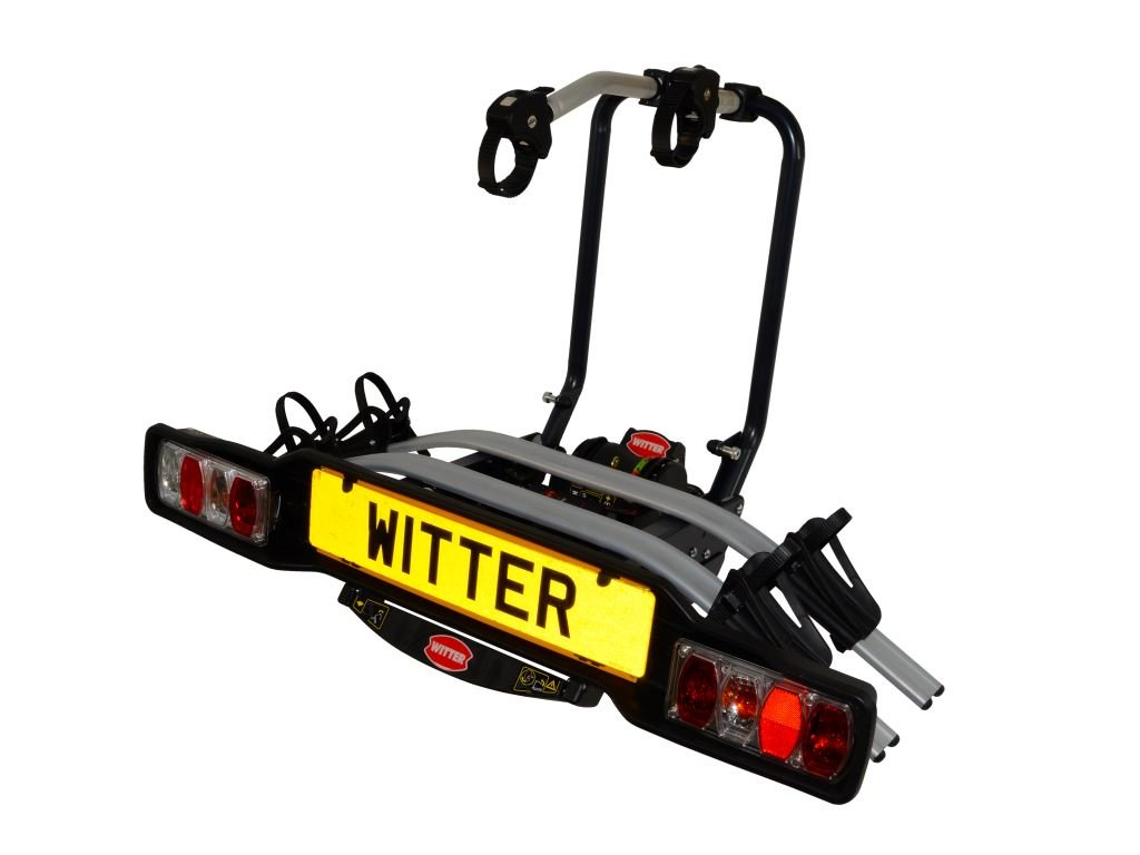 Witter Towbars ZX302 Clamp-on Towball Mounted 2 Bike Carrier