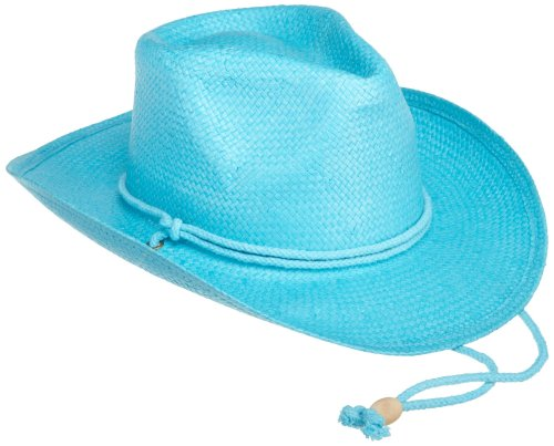 Price comparison product image San Diego Hat Little Girls' Cowboy Hat, Turqoise, 4-8 years