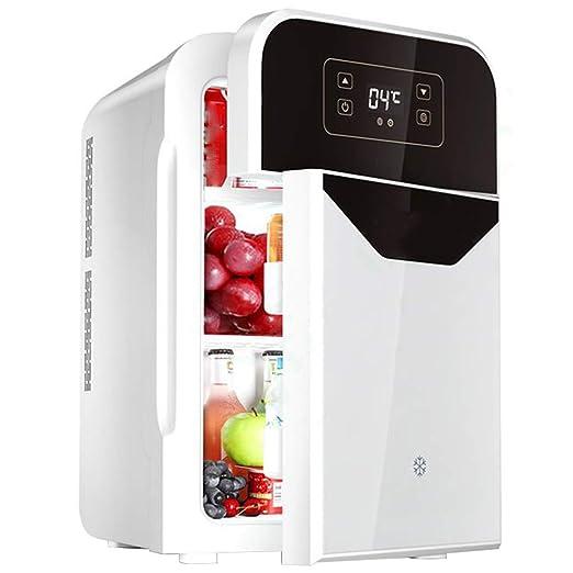 Mini nevera Refrigerador pequeño de Doble Puerta Refrigerador ...