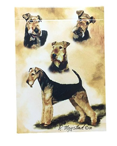Airedale Terrier Dog Playing Cards by Best Friends