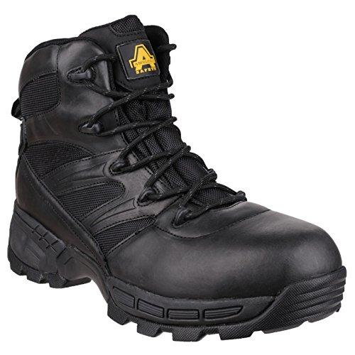 Amblers Safety Black Fs410 Piranha S3 Waterproof Boot - 9