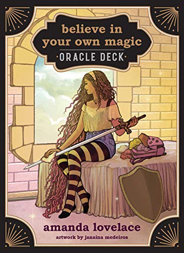 Believe in Your Own Magic: A 45-Card Oracle Deck and Guidebook Cards – July 14, 2020