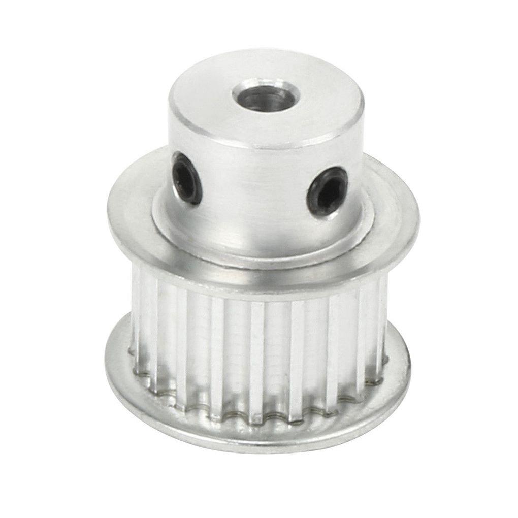 XL 20 dents 4 mm Bore synchrone roue de poulie en alliage d'aluminium de bricolage Modèle Accessoire pour 10 mm Courroie de distribution