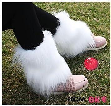 AKDSteel Leg Warmers Women/'S Leg Warmers Fashion Boots Cuff Decorations Warm Sets Fluffy Soft Faux Leg Warmers Furry Legs Warm Soft Cuff Boots