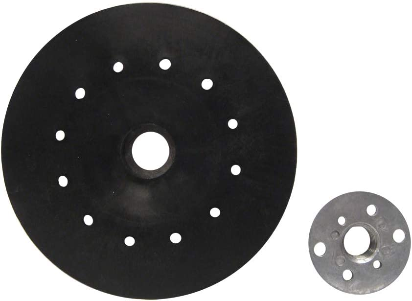 Mercer Industries 324007 Backing Pad for Semi-Flexible Discs Rubber 7 x 5//8-11