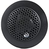 Massive Audio CT2II - Silk Dome 160 Watt 28mm Car Audio Tweeter Set with Crossovers, Surface, Angle or Flush Mount Options
