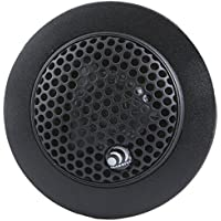 Massive Audio CT2 - Tweeter 1 1/4 160W 3 Way Surface Angle Or Flush Mount Silk Passive Xover (Pair)