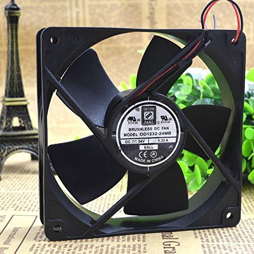 REFIT OD1232-24 MB Fan 24 v DC 120 x32 107 CFM Fan 24 v 0.22 A Frequency Converter