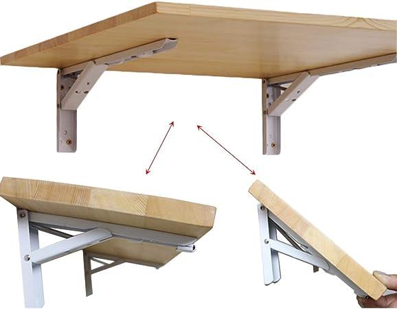 mesa plegable HYDT Madera montada en la Pared, Cocina y Comedor Mesa de Trabajo Escritorio de computadora para Oficina en casa, Pino (Size : 40×20cm): Amazon.es: Hogar
