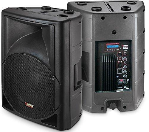 NOVIK NEO EVO 300A USB 2 Way Amplified Loudspeaker, MP3, Bluetooth, Peak power 1000W, Woofer: 15