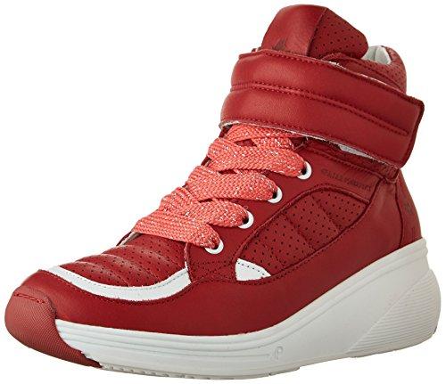 Pajar Women's Beverly Hills Fashion Sneaker - Red - 36 M ...