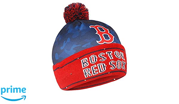 timeless design d2f89 9118b 8b6af 1d4d8  cheapest amazon forever collectibles mlb boston red sox camo  light up knit hat sports outdoors 93538