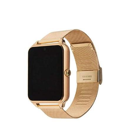 BAIYI Reloj Inteligente Plus Correa de Metal Bluetooth ...