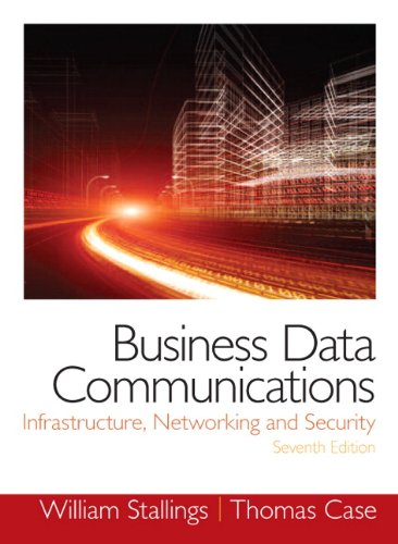 Business Data Communications- Infrastructure, Networking and Security (7th -