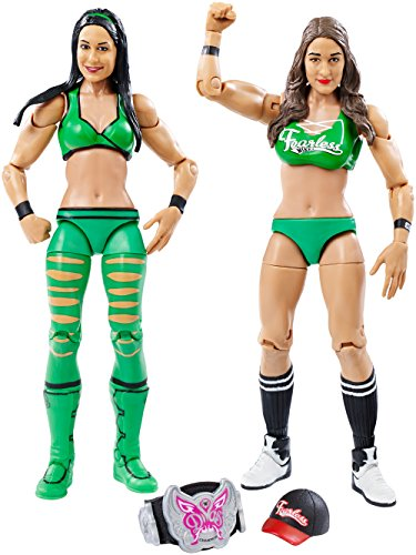 WWE Figure 2-Pack, Brie & Nikki Bella (The Bella Twins)