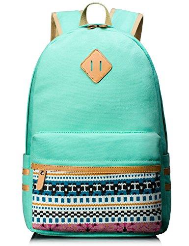 Travel Outdoor Computer Backpack Laptop bag big (blue) - 4