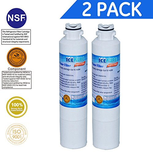 Price comparison product image Icepure RWF0700A 2PACK Refrigerator Water Filter Compatible with Samsung DA2900020B, DA2900020A