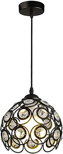 Modern Pendant Light Fixtures Crystal Chandelier Ceiling Hanging Lighting Decoration