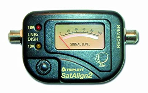 Triplett SatAlign 2 3275 Digital Satellite Signal Strength Meter with Tone for DISH and DirecTV