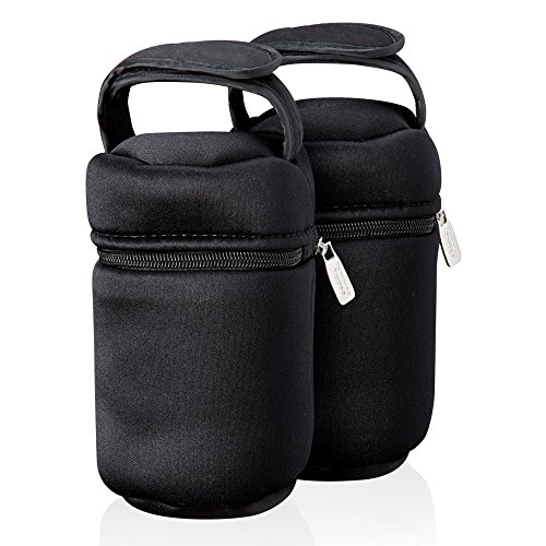 Tommee Tippee Closer to Nature Insulated Bottle Bag, Pack of 2