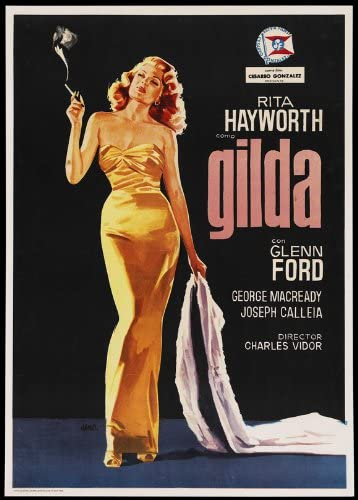 Amazon.com: Movie Posters Gilda - 27 x 40: Prints: Posters & Prints