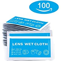 """Pre-Moistened Screen Wipes - 8"""" x 5"""" Electronic Wipes..."""