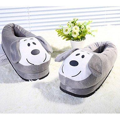 Sandalias de verano zapatos de hombre casual zapatillas de algodón marrón / gris Brown