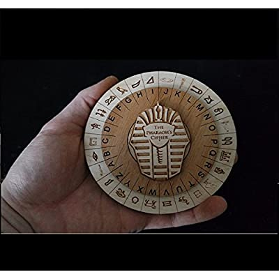 Mini Pharaoh's Cipher - Escape Room Props and Escape Room Puzzles: Toys & Games