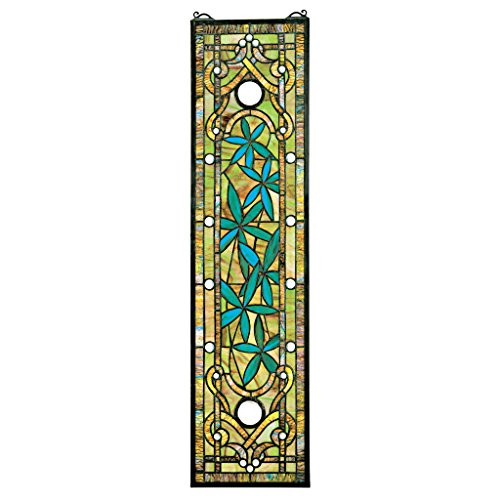 Design Toscano Asian Serenity Garden Stained Glass Art