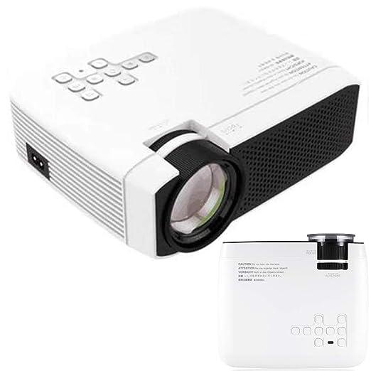 AXDNH Proyector portátil de Alta definición, Proyector de Video ...
