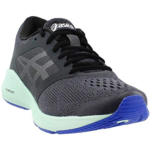 ASICS Roadhawk FF Running Shoe - Women's Dark Grey/Silver/Glacier Sea, 8.0