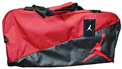 52a389085c5d Galleon - Nike Jumpman Jordan Duffel Bag (Red And Black With Red Logo)