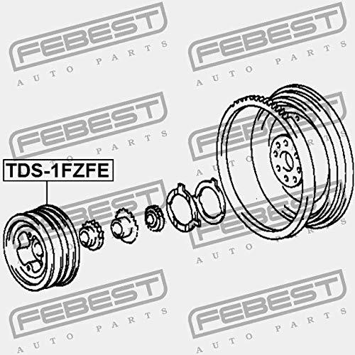TDS-1FZFE Febest POLEA CIGUE/ÑAL