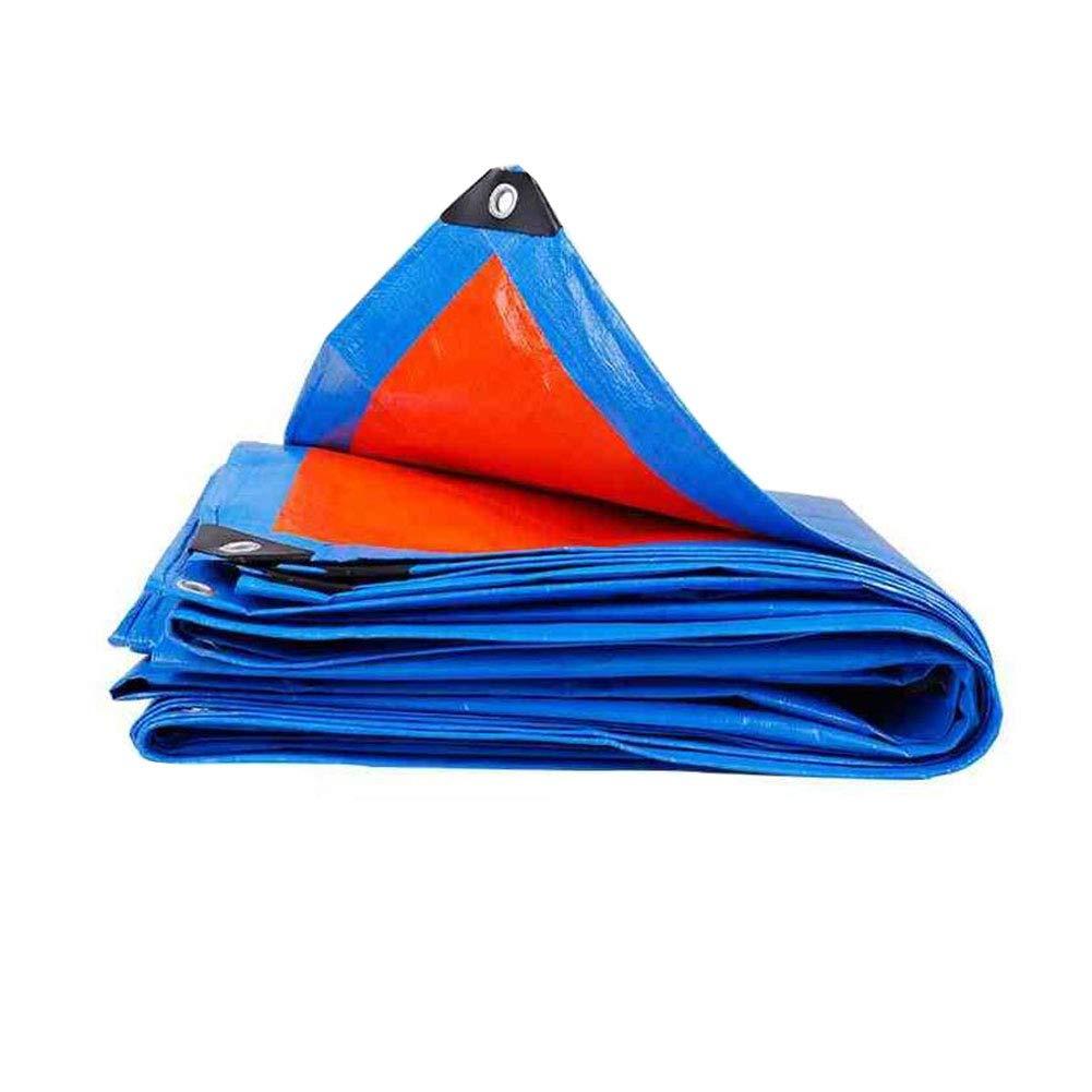 Zeltplanen CJC Plane Wasserdicht Leicht Regenfest Sonnencreme Camping Abdeckung Draussen (größe   6x6m)