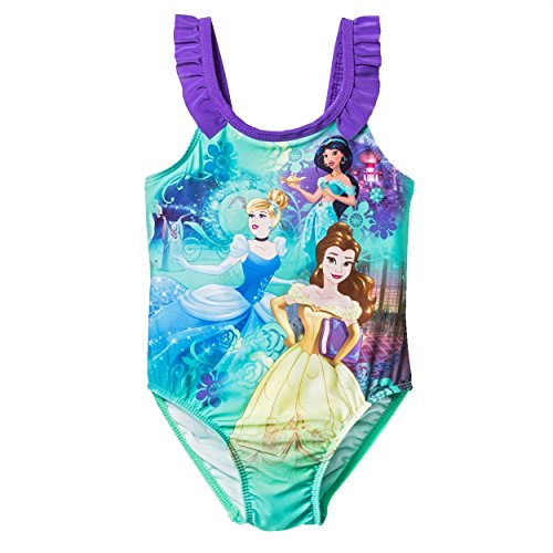 Disney-Princess-Girls-Swimwear-Swimsuit-ToddlerLittle-Kid