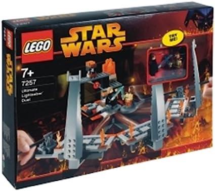 Amazon Com Lego Star Wars Ultimate Lightsaber Duel Toys Games