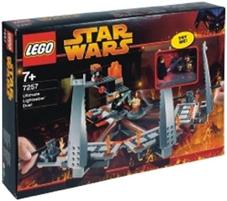 LEGO STAR WARS TrNeonOrange Plate ref 2419 Set  7257 Ultimate Lightsaber Duel