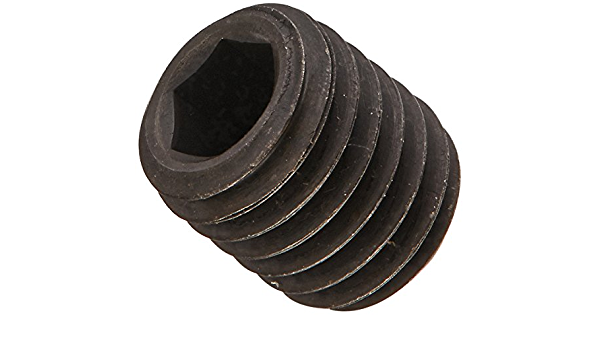 Cup Point Hex Socket Drive US Made Small Parts M16040SSC 40 mm Length Black Oxide Finish Alloy Steel Set Screw Meets ISO 4029 M16-2 Thread Size Pack of 10